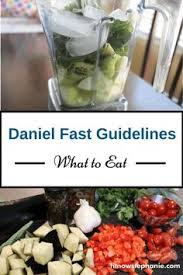 7 day daniel fast meal plan including recipe links shopping list