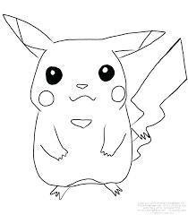 coloriages pikachu  utahimeinfo