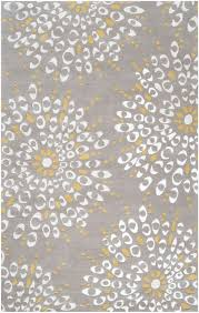 Modern Yellow Rug by Ny5189 Area Rug