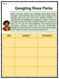 rosa parks facts worksheets information u0026 biography for kids