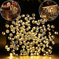 warm white solar fairy lights buy warm white led string lights and get free shipping on