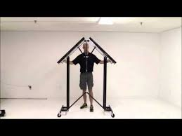 portable folding coat rack free shipping youtube