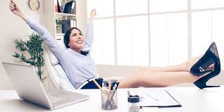 Legs On Desk The Critical Key To Success For Every Woman In Business Huffpost