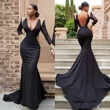 how to cut out the back of a cabinet black v neck sheer sleeves cut out back prom dress with