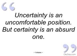 Comfortable With Uncertainty How Do Leaders Deal With Uncertainty