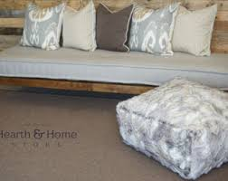 tufted floor pillow etsy