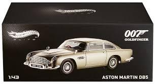 amazon com wheels elite james bond goldfinger aston martin