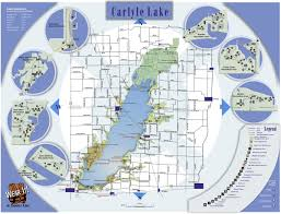 Illinois Road Construction Map by St Louis District U003e Missions U003e Recreation U003e Carlyle Lake