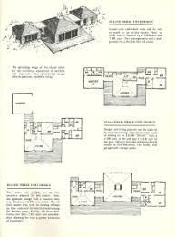 cluster house plans vintage house plans 1960s cluster units antique alter ego