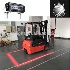 blue warning lights on forklifts 10 80v led forklift red no go danger zone line beam warning light