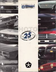 1997 caravan town u0026 country u0026 voyager van repair shop manual