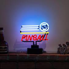2017 games room bar pub teenagers mancave pinball neon sculpture