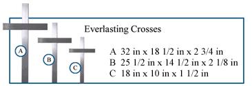 roadside crosses for sale memorial roadside stainless steel crosses roadside memorials grave