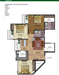 study room floor plan aig park avenue noida extension price location possession