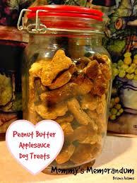 recipe for dog treats peanut butter applesauce dog treats recipe your dog will