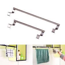 aliexpress com buy 1pc stainless steel over door hook towel bar