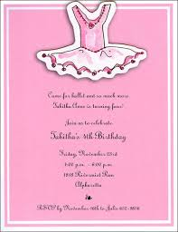 ballerina birthday invitations ballerina birthday invitations to