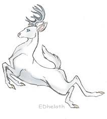 jumping deer tattoo drawing photo 1 photo pictures and