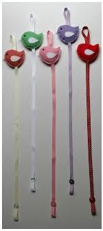 hair clip holder bird felt and ribbon hair clip holder iddy bibby madeit au