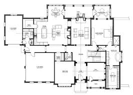House Plans With Media Room Baby Nursery 1 Story Floor Plans Open One Story House Plans Home