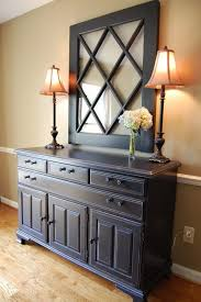 sideboard black distressed buffet sideboard consolesblack