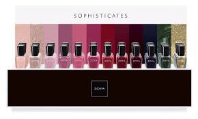 press release zoya sophisticates fall 2017 collection polish