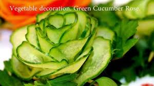Vegetable Decoration Videos Very Easy Way To Decorate Salads Video Dailymotion