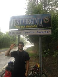 West Virginia travel meme images My roommate i biked across the usa with no training no jpg