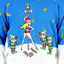 ugly christmas sweater funny lightup santa reindeer ugly