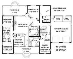 square floor plans for homes image result for single story 4 bedroom floor plan with room