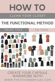 How To Purge Your Closet by Cleaning Out Your Closet Version 2 The Functional Method The