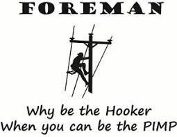 Lineman Barn Decals Foreman Vinyl Decal