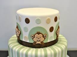 monkey baby shower cake monkey baby shower cakes noel homes the preparation of