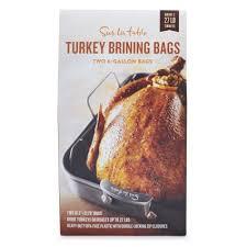 turkey brining bag sur la table turkey brining bags set of 2 sur la table