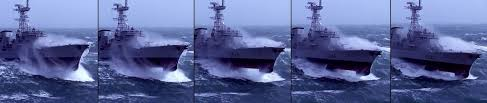 Phisical Psience ΦΨ US NAVY DDG 1000 Tumblehome Hull