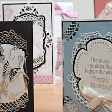 close ups of card designs using tonic studios all products