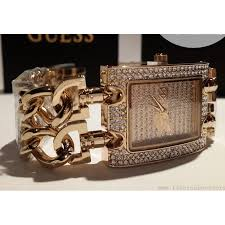 bracelet watches guess images Guess metal gold lady watch bracelet style watch with a glitz jpg