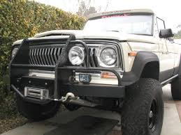 jeep grand wagoneer custom rock slider grill guard j truck grand wagoneer pinterest