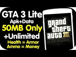 gta 3 apk android gta 3 highly compress android apk data lite version only