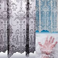 lace voile curtains ebay
