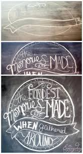 wooden chalkboard easel bronze kitchen chalkboard wallmount copper