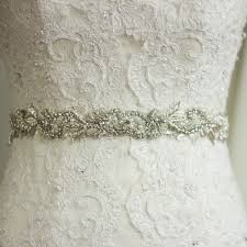 bling belts for wedding dresses lace wedding dress with bling belt dress belts sashes bridal lace