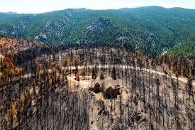 Wildfire Near Julian Ca by Fire Fighting Archives Redzone