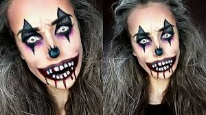 Halloween Makeup Clown Faces by Creepy Clown Make Up Halloween Tutorial Youtube