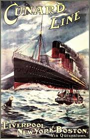 91 best cunard posters images on pinterest cruise ships vintage