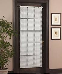 Mini Blinds For Sale Amazon Com Magneblind Magnetic Mini Blinds For Metal Door Half