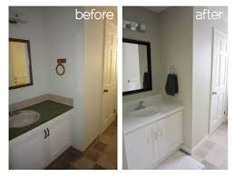 before and after small bathroom makeovers
