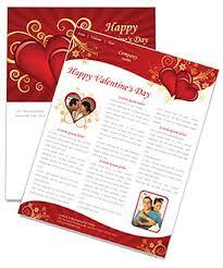 valentines day newsletter template u0026 design id 0000000875