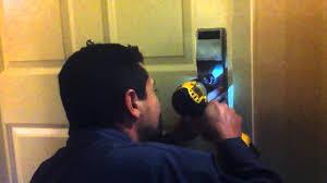 unlocking a broken onity door lock youtube