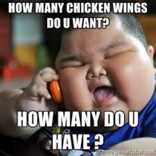 Chicken Wing Meme - an open love letter to chicken wings